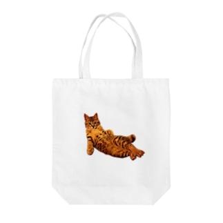 Elegant Cat ③ Tote Bag