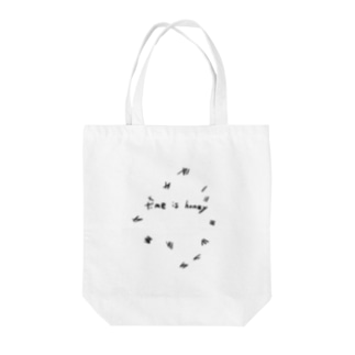 TimeIsHoney-Misty Tote bags
