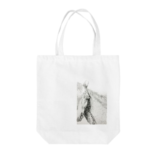 馬面なアンタ Tote bags