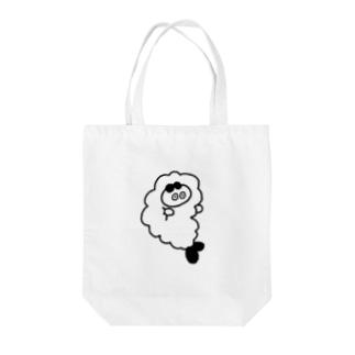 えび寝ぺーちゃん Tote bags