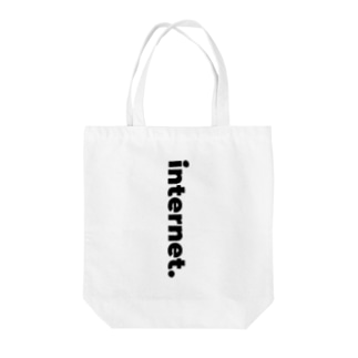 Internet___Black Tote bags