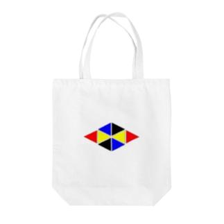 miyu1990の三角 Tote bags