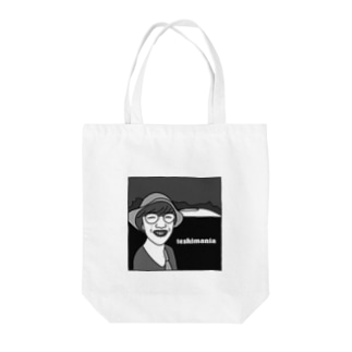 teshimania グレースケール  Tote bags