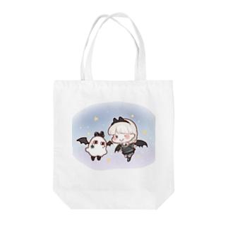 小悪魔ちゃんとメジェドさん Tote bags
