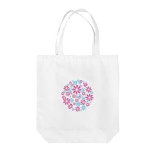 ハナ*ハナ Tote bags