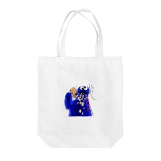 おふざけクッキーモンスター Tote bags
