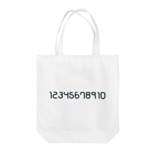 数字モノ Tote bags