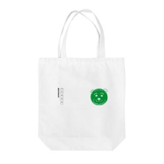 手書きシュナ(cafeグリーンver.)   Tote bags