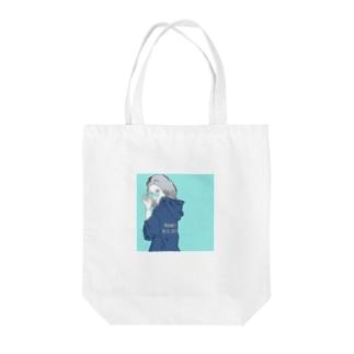 June 22_girl Tote bags