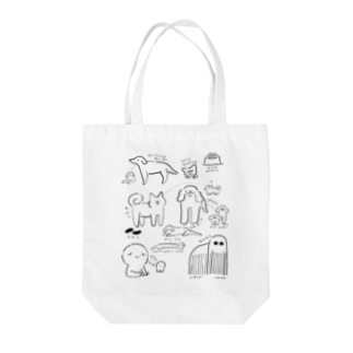 DOGS Tote bags