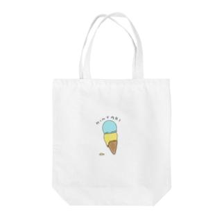 HINYARI AISU Tote bags