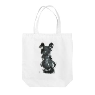 イヌsumi-inu Tote bags