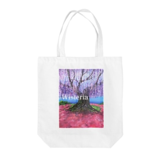 大藤 from flower park Tote bags
