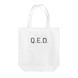 理数 理系Q.E.D. Tote bags