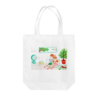ハッピー♡タイム(B)🧡ⅭoⅭo&TaTa Tote bags