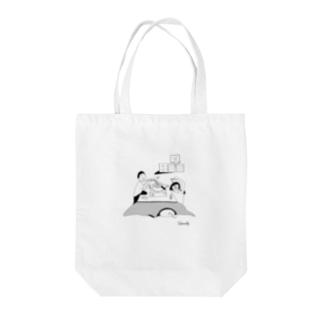 謎麺 Tote bags