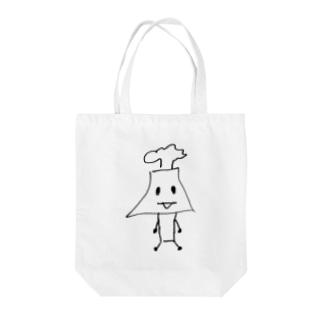 桜島さん Tote bags