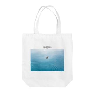 HOMETOWN_MINAMI Tote bags