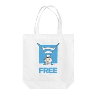 FREE(PARICODE) Tote bags