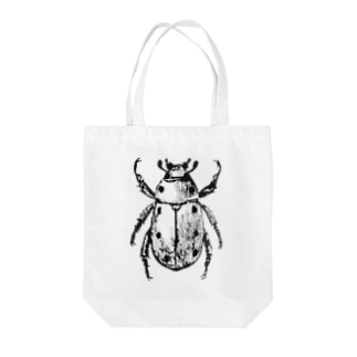 コガネムシ(黒ver.) Tote bags