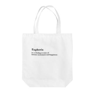 Euphoria  Tote bags