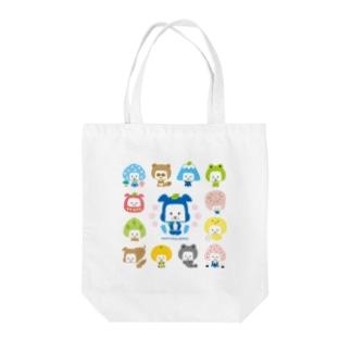 忍者犬たろうくん_H1 Tote bags