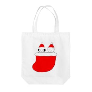 くつしたクリスマス Tote bags