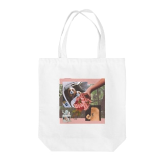 Cavalier lady Tote bags