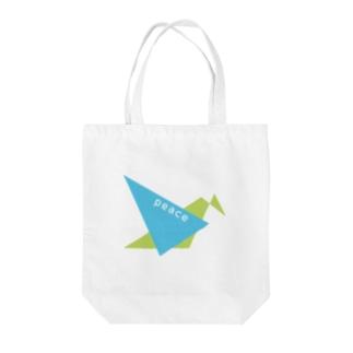 PEACE〜平和〜 Tote bags