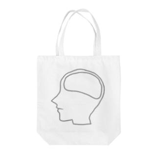 オタクの脳内 Tote bags