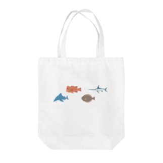 hirnの魚さかなサカナ Tote bags