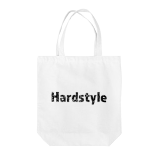 Hardstyleロゴ入りトートバッグ 黒文字 Tote bags