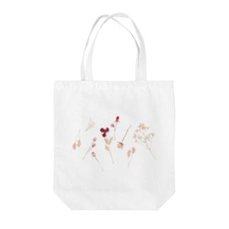 在りし日のブーケ Tote bags