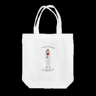 aliveONLINE SUZURI店のパーティだいきち(特別企画) Tote bags