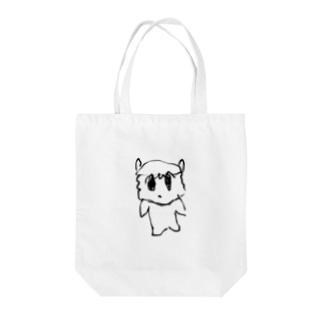 シンプルむりんちゃん Tote bags