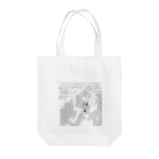 俯瞰シリーズ Tote bags