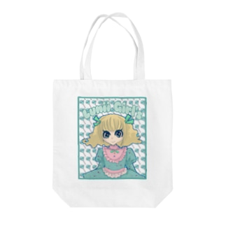 Luniipopちゃん Tote bags