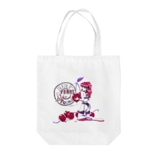 チェリーちゃん Tote bags