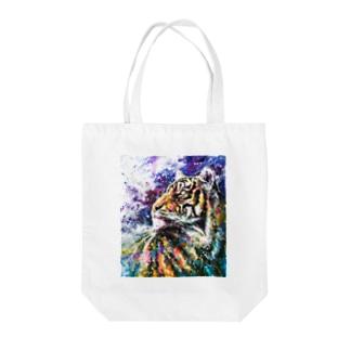 Tiger_01 Tote bags