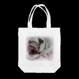 korochanのあくびパグ Tote bags