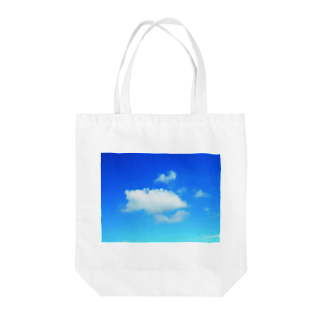 錆猫の館のほっこり♪クマさんの雲 Tote bags