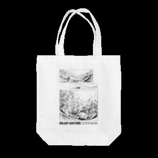flip flapのENJOY NATURE Tote bags