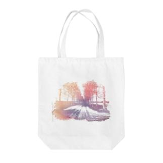 白樺並木  Tote bags