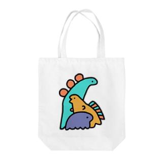 ダイナソーズ Tote bags