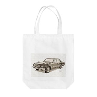 トヨタ センチュリー Tote bags