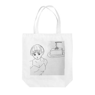 90年代グラドルと納豆豆腐 Tote bags