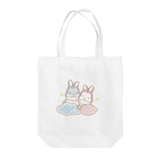 うさみみさんの夢 Tote bags