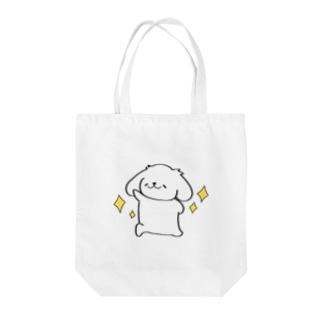 輝くはっちゃん Tote bags