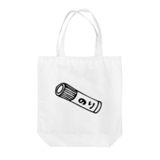 のり Tote bags