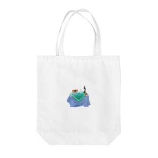 概念としての静物 Tote bags
